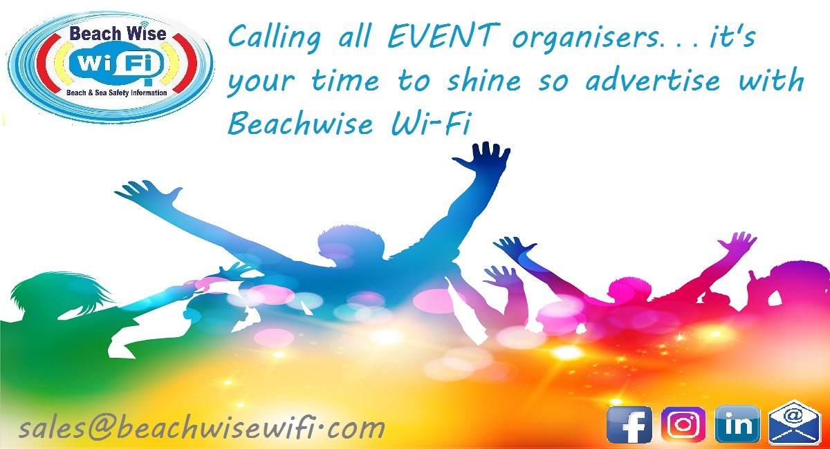 Calling all event organisers its your time to shine …. so advertise with us