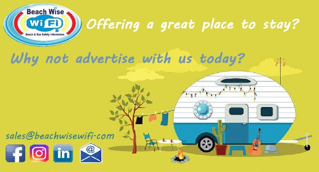 Offering a place to stay, why not advertise with beachwise wifi