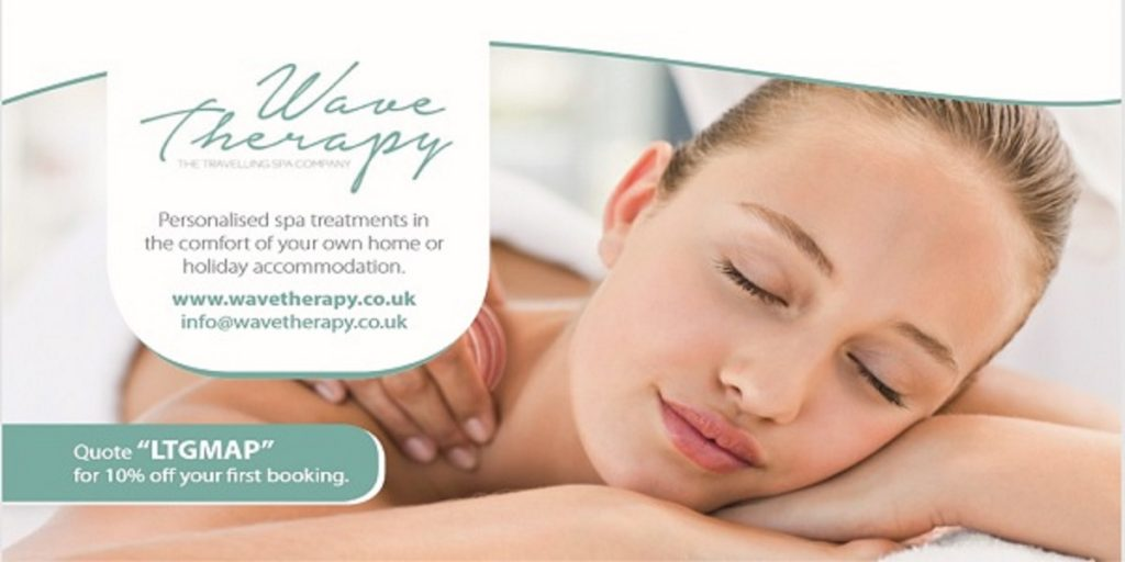 Wave Therapy.  Relax and enjoy