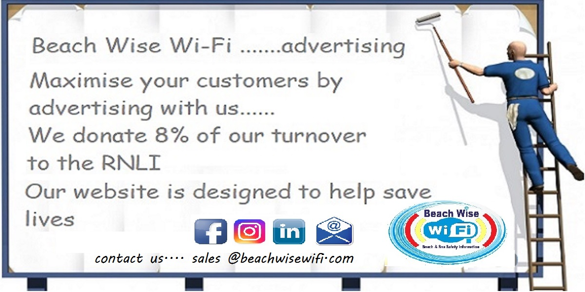 Beachwise wifi, advertise with us