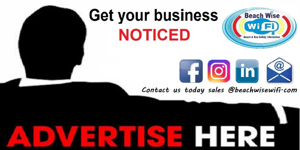 Get your business noticed, advertise with beachwise wifi
